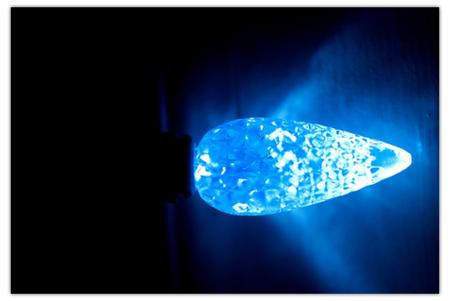LEDs parpadeantes para transmitir información a nuestros teléfonos