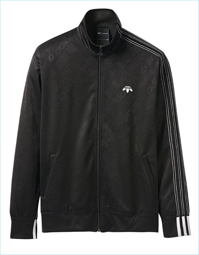 Adidas Alexander Wang Jacquard Track Jacket
