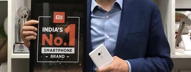 Xiaomi lidera la venta de smartphones en India y va a por la plata internacional