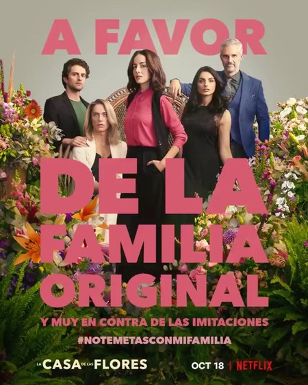La nueva campaña de La Casa de las Flores está marcando un antes y un después en México por sus mensajes con doble sentido a favor de la diversidad