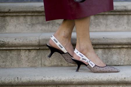 Los zapatos de tacón fino son los mejores aliados para lucir 24 al día