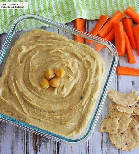 Como preparar un auténtico Hummus. Receta