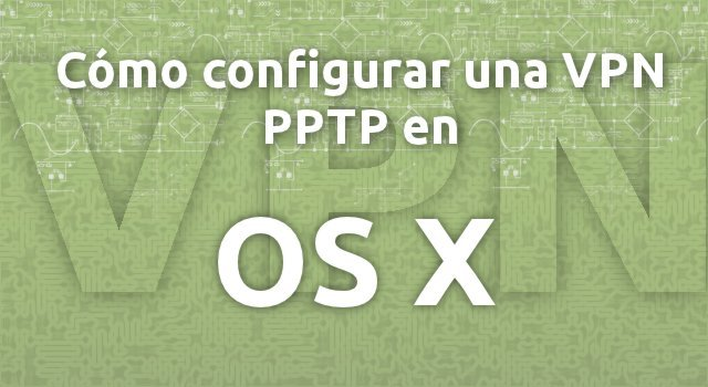 PPTP OS X