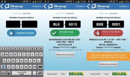 CheckPlaca, una aplicación que ha recuperado miles de coches robados