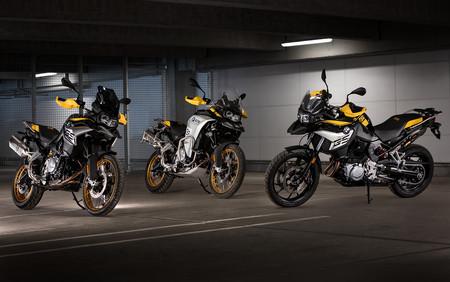 Las BMW F 750 GS, F 850 GS y F 850 GS Adventure suman una edición especial por los 40 años de GS y más equipamiento de serie
