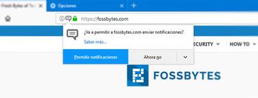 Cómo evitar que las páginas web te pidan permiso para mostrar notificaciones