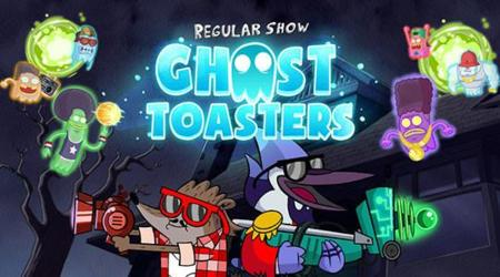 Regular Show Ghost Toasters