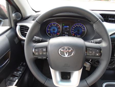 Prueba Toyota Hilux Interiores