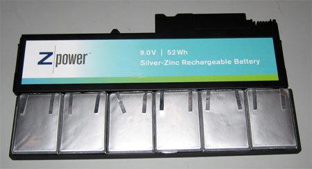 Batería de zinc-plata para mejorar la autonomía