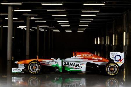 Jules Bianchi, Adrian Sutil, Bruno Senna y Kamui Kobayashi a decidir la novela Force India