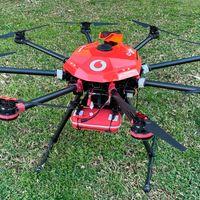 El 5G de Vodafone mantiene en el aire una red de drones en Benidorm, primera vez en un entorno urbano real