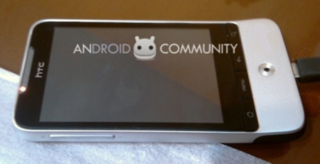 HTC Legend, deja ver su cuerpo de aluminio