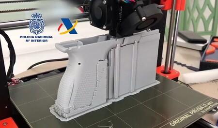 En España también se imprimen armas en 3D: un taller ilegal ha sido desmantelado por la policía en Tenerife
