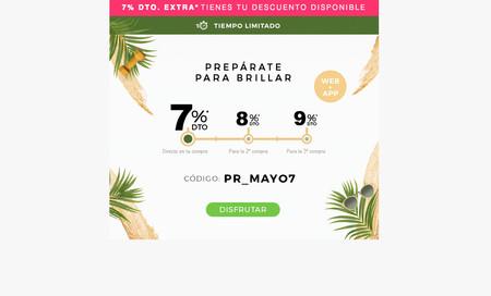 Descuento directo de un 7% en Promofarma con este cupón y hasta un 9% de descuento en futuras compras