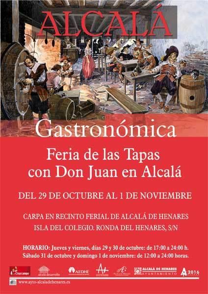 La feria del tapa llega a Alcalá este fin de semana