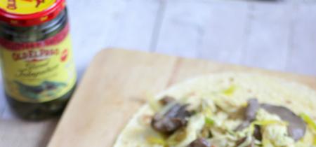 Fajitas mexicanas de pollo y de ternera. Receta
