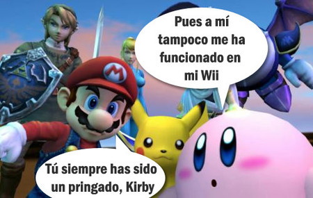 A Kirby tampoco le funciona...