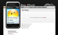 Blog2iPhone, crea la versión iPhone de tu blog