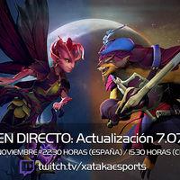 Probamos la Actualización 7.07 de Dota 2 en directo a las 22:30 horas (las 15:30 en Ciudad de México) [Finalizado]