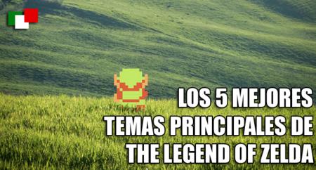 Los 5 mejores temas principales en The Legend of Zelda