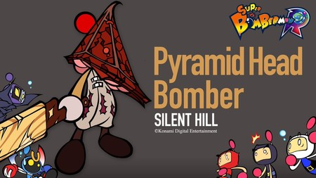 Super Bomberman R Pyramid Head