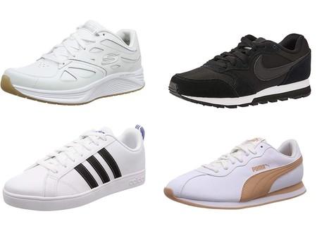 Chollos en tallas sueltas de zapatillas Sketchers, Nike, Adidas o Puma por menos de 26 euros en Amazon