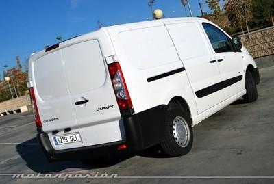 Citroën Jumpy Furgón 2.0 HDi blanca, prueba (parte 2)