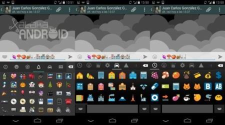 Emojis en Android y WhatsApp