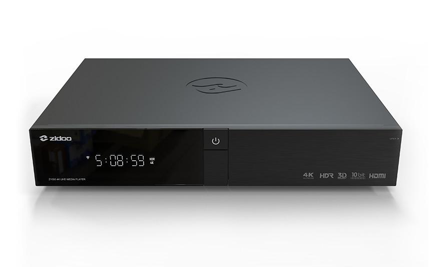 Zidoo presenta su nuevo reproductor multimedia 4K para 2019, el Z1000