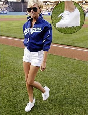 Las zapatillas de Victoria Beckham