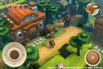 Oceanhorn, juego para iOS con toques de Zelda: Wind Waker