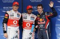 Lewis Hamilton se hace con la pole en Corea y rompe la hegemonía de Red Bull