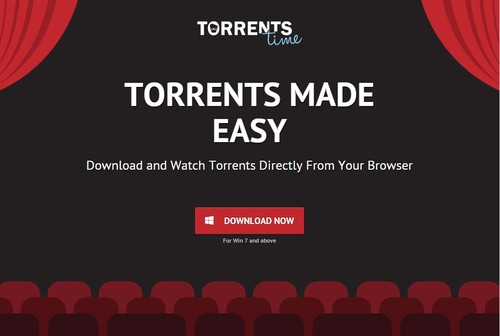 Torrents Time el nuevo streaming de videos para The Pirate Bay se pone en la mira de Hollywood