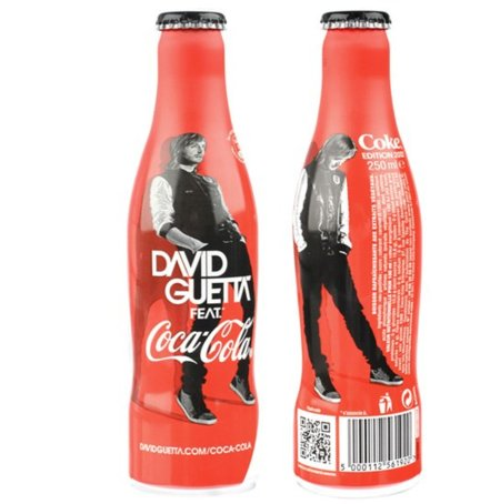 Botella de Coca-Cola de David Guetta