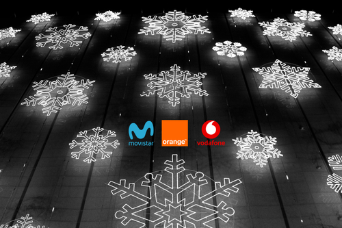 Movistar, Vodafone y Orange se la juegan en una campaña de navidad con grandes expectativas