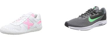 Chollos en tallas sueltas de zapatillas y botas Clarks, Mustang, Munich o Nike en Amazon