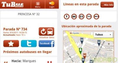 Tubus: calcula cuánto le queda al próximo autobús