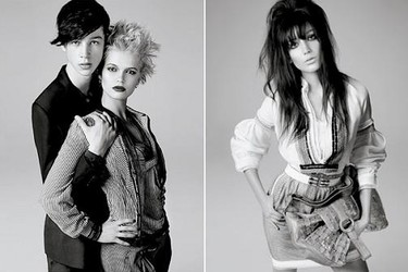 Lydia Hearst, Daisy Lowe y Pixie Geldof para Pringle of Scotland