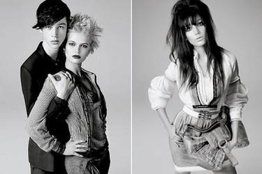 Lydia Hearst, Daisy Lowe y Pixie Geldof para Pringle of Scotland