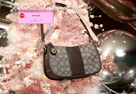 Coach Holiday Campaign For Swinger Bag