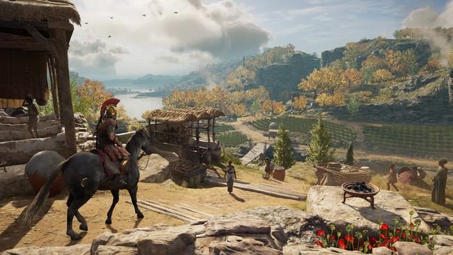 Ubisoft explica cómo ha sido recrear la Antigua Grecia de Assassin's Creed Odyssey en un nuevo vídeo