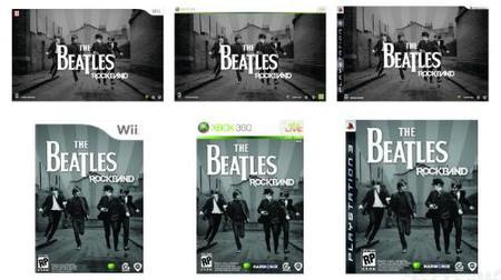 'The Beatles: Rock Band': posibles carátulas e instrumentos Höfner y Ludwig