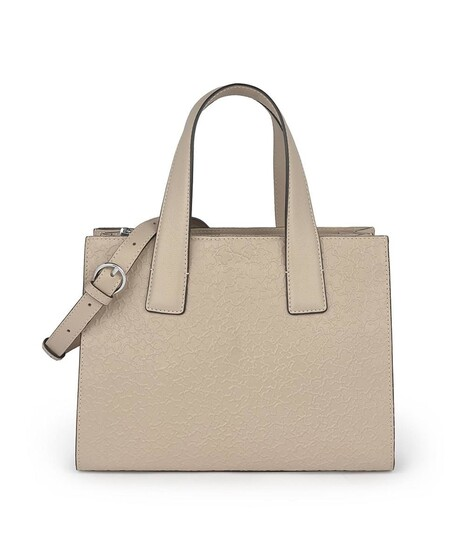 Bolso Mano Mujer Beige Tous