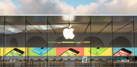 Apple Store green