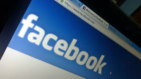 Pantalla Facebook