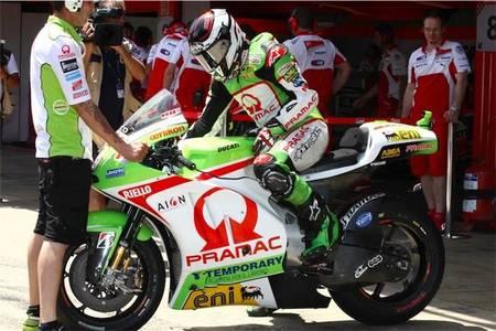 MotoGP Gran Bretaña 2012: una de vueltas a rueda o con la caña