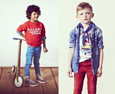 P&B niños