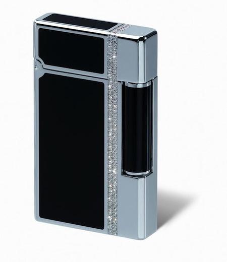 Un encendedor con diamantes, cortesía de Davidoff