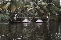 Los Backwaters de Kerala, India