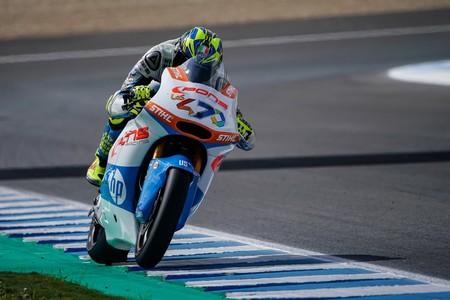 Un impecable Lorenzo Baldassarri arrasa en Jerez y aprieta la clasificación general de Moto2
